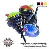 2cl Portionierer »Volum-Matic« UV-leuchtend (3er Pack) ENGOLIT | Made in Germany | ohne erneutes Umschwenken der Flasche | Spirituosen Dosierer