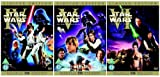 The Complete Star Wars Original Trilogy 4 - 6 DVD Movie Collection: Episode 4 - The New Hope / Episode 5 - The Empire Strikes Back / Episode 6 - Return of the Jedi by Mark Hamill