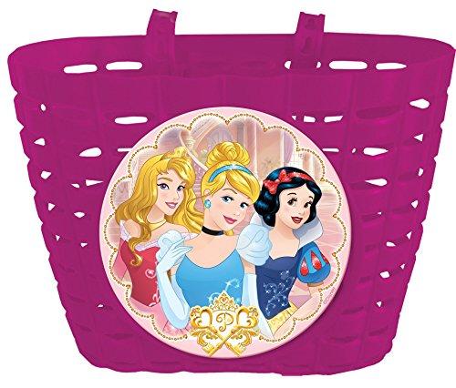 Disney Mädchen Princess Fahrradkorb Universal Kinder, rosa