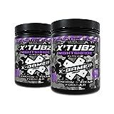 X-Gamer X-Tubz - Nightshade (Johannis- / Blaubeere) - Pulverización de bebida energética - Sacúdete