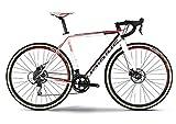 Haibike Noon 8.20 28 Zoll Cyclocross Weiß/Schwarz/Rot (2016), 58