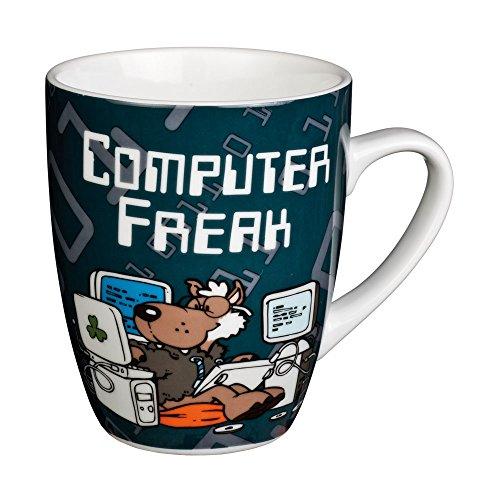 Preisvergleich Produktbild Nici n30807–Verrückte Tasse–: Computer Freak