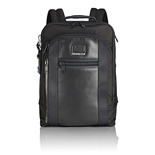 "Tumi Alpha Bravo - Davis Laptop Backpack 15"" Mochila Tipo Casual, 42 cm, 11.87 Liters, Negro (Black)"