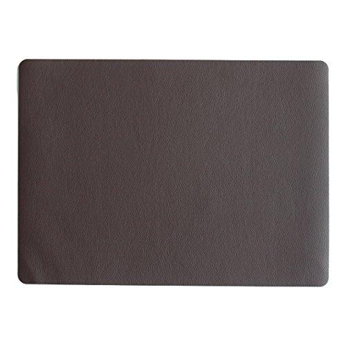 LEDER Tischset, schoko 46 x 33 cm, Lederoptik