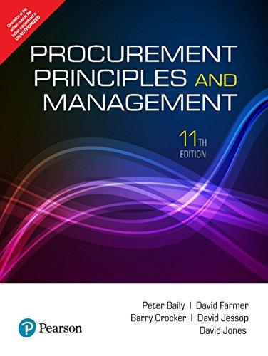 Procurement, Principles & Management 11Th Edition