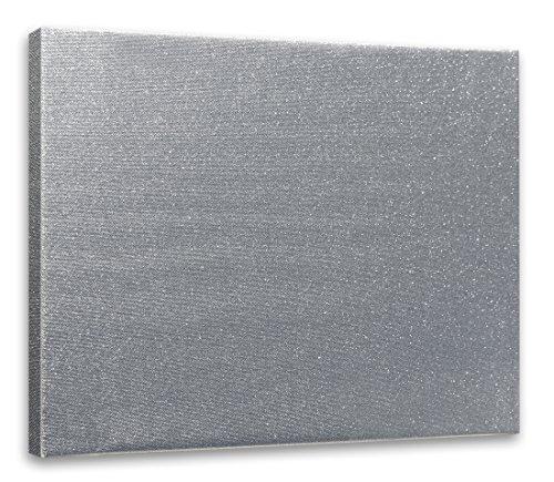 Arte & Arte 7842.0Keilrahmen mit Leinwand für Maler, Holz-Tanne, silber, 70x 50x 1.7cm