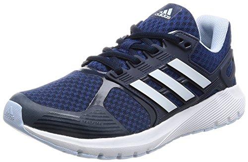 Adidas Duramo 8 W, Zapatos para Correr Mujer, Azul (Mystery Blue /ftwr White/easy Blue), 36 2/3 EU