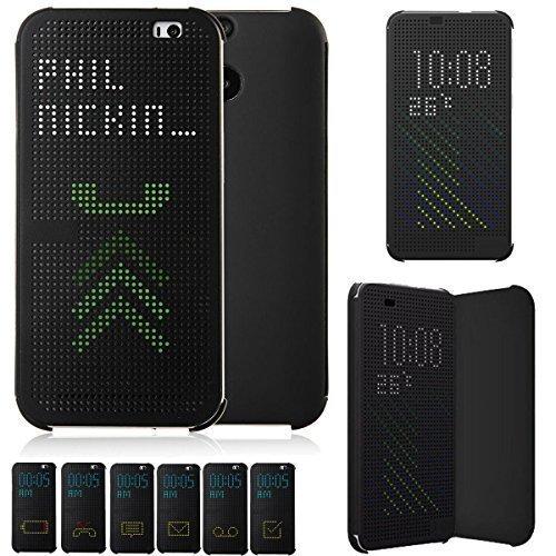 JOYOOO Dot View Case Cover für HTC One M9 Hc M231 (Htc M8 Dot View Case)
