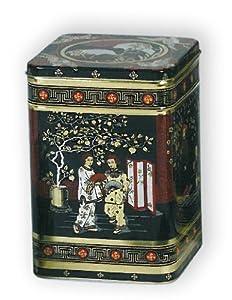 Buzz Boîte à thé en métal Style japonais classique Hauteur 21cm Quantité 1,4kg