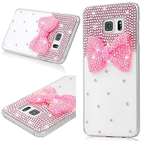 SmartLegend Coque Samsung S6 Edge , Bling Etui Coque Plastic