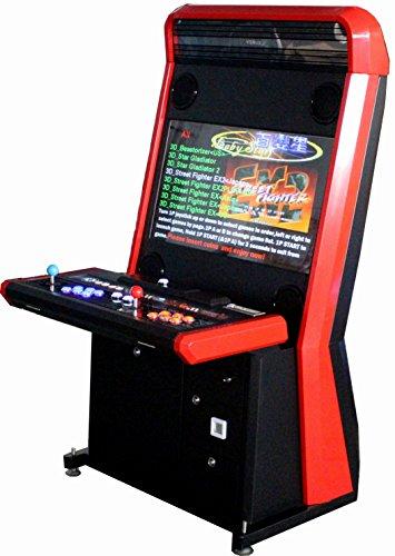 US-Way e.K. G-29 Future Design 3500 Arcade - Macchina per Videogiochi, con piedistallo, 3500 Giochi Jamma
