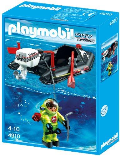 Piraten Wasser Pistole - Playmobil 4910 - Kleinboot mit