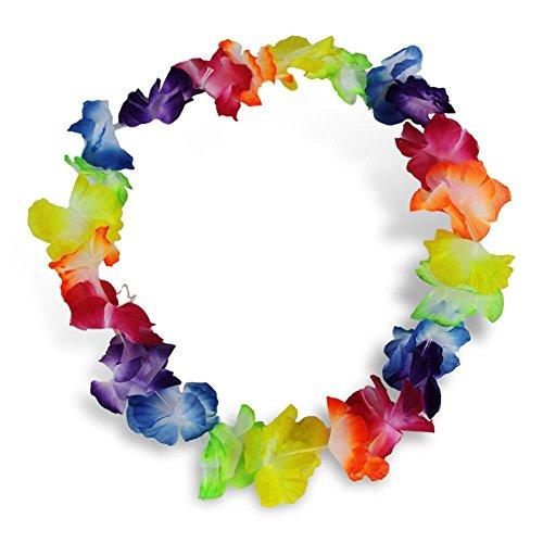 "Preisvergleich Produktbild 192 x HC-Handel 923120 Blumenkette ""Multicolor"" bunt 90 cm"