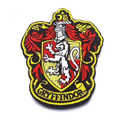 BRITISH HARRY POTTER GRYFFINDO HOGWART HOUSE OF GRYFFINDOR PATCH
