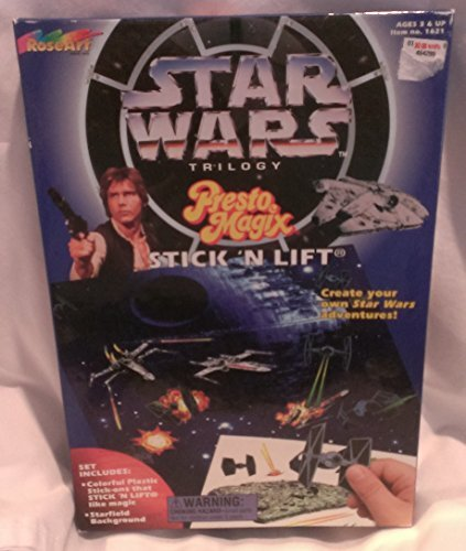 Star Wars Trilogy Presto Magix Stick n Lift by Rose Art