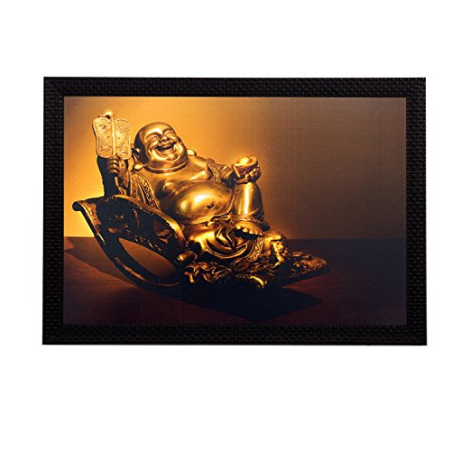 ecraftindia laughing buddha satin matt texture uv art painting eCraftIndia Laughing Buddha Satin Matt Texture UV Art Painting 513nwMNPlZL
