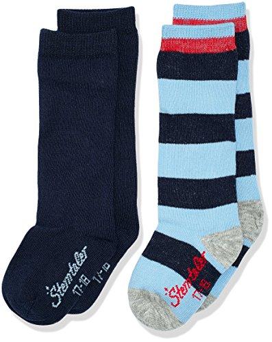 sterntaler-kniestrumpfe-dp-ringel-uni-calcetines-para-bebes-azul-marine-300-22