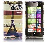 Microsoft Lumia 532 Silikon-Hülle Instagram Paris weiche