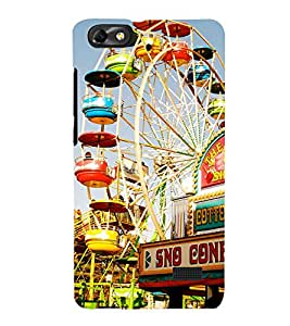 Giant Wheel 3D Hard Polycarbonate Designer Back Case Cover for Huawei Honor 4C :: Huawei G Play Mini