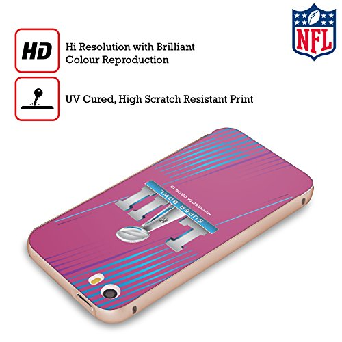Ufficiale NFL Vittoria Di Piombo Nord 2018 Super Bowl LII Oro Cover Contorno con Bumper in Alluminio per Apple iPhone 5 / 5s / SE Divisiori Di Luci Del Nord