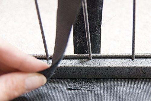 Speedwellstar Mat for 8 Side X Large Pet Pen Run Base Liner Mat Heavy Duty Waterproof Black Universal - Cage NOT… 3