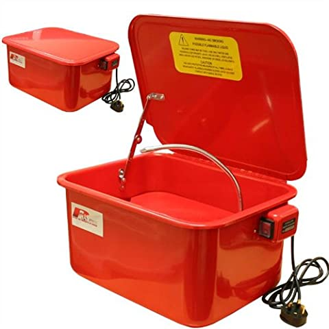 Rhyas Parts Washer 3.5 Gallon Degreaser Cleaner Cleaning Tank Solvent Bench Top