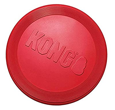 KONG Flyer Dog Toy - Large, Red