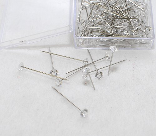 Diamond 85 Épingles Tête Diamètre 6 Mm Longueur 38 Mm