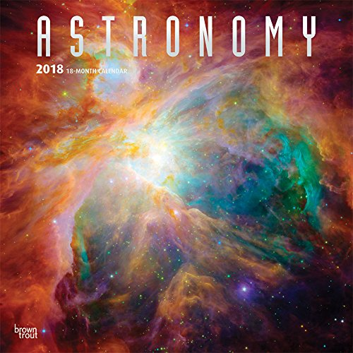 Astronomy 2018 Wall Calendar por Inc Browntrout Publishers