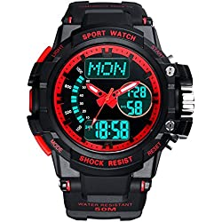 Multifunction Watches/Youth waterproof watch/With Luminescent sport watch-C