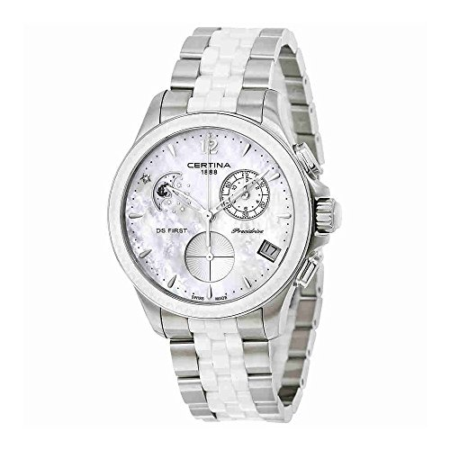Certina DS First Lady Moon Phase Chronograph Ladies Watch C030.250.11.106.00