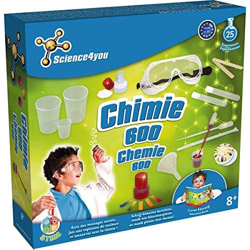 Science4you-sy611016-Kit científico-Química 600