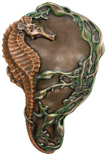 stealstreet Jugendstil Sammlerstück Seepferdchen Tablett Teller Figur