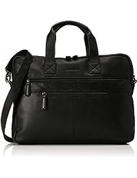 Bodenschatz Business Bag, Sacs pour ordinateur portable mixte adulte, Schwarz (Black), 11x29x40 cm (L x H D)