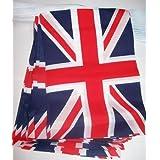 AZ FLAG Guirnalda 4 Metros 20 Banderas del Reino Unido 15x10cm - Bandera Inglesa - BRITANICA – UK 10 x 15 cm - BANDERINES