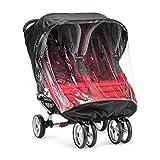 Baby Jogger BJ90452 City Mini Wetterschutz für Doppelwagen, transparent