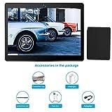 Tableta 10.1 Pulgadas, Android 7.0 Tablet PC con Ranura para Tarjeta SIM Dual, 3G, gsm, Quad Core, 2 GB de RAM + 32 GB ROM, cámara Dual incorporada, Bluetooth 4.0, Wi-Fi y GPS