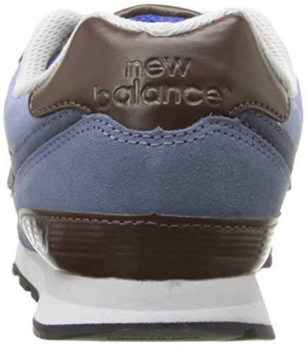 New Balance Kl574esg M, Scarpe da Ginnastica Basse Unisex – Bambini Bleu