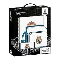 Real Madrid–Set Cadeau 3Pièces, 28x 35x 6cm (Safta 311754588)