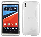 HTC Desire 816 Silikonhülle in WEIß von Cadorabo - S-Line