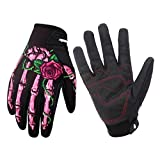 Rera Unisex Winter Warm Voll Finger Touchscreen Motorrad Handschuhe mit