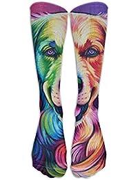 Golden Retriever Dog Classics Stockings, Knee High Tube Socks, Sports Long Socks For Men
