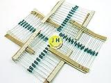 Just Honest x 100 Pièces / pcs. x Résistances / Resistor SET couche métallique / Metal Oxide 1% 0.6W 4 x 25 Pièces /pcs. (220 Ohm, 330 Ohm, 1K, 10K) #A835