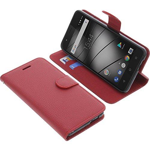 foto-kontor Tasche für Gigaset GS270 / GS270 Plus Book Style rot Schutz Hülle Buch