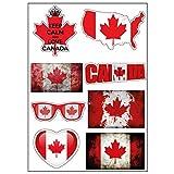 Brett A4Aufkleber-Kanada selbstklebend Klebeband Scrapbooking–D20