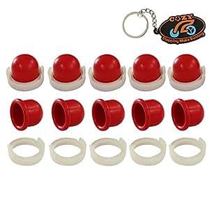 Cozy 10Stück Primer Carb Vergaser Leuchtmittel Pumpe passend für Sprint und Classic-Motoren ersetzen Briggs & Stratton 694394494408