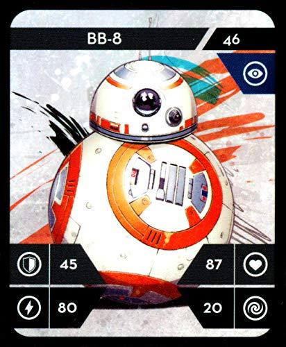 Star Wars Kaufland Sammelkarten Album einzelne Karten incl.WIZUALS Sticker (46-BB-8-46-NORMAL)