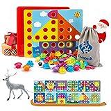 Fansteck Tablero de Mosaicos Infantiles, Puzzle 3D, Rompecabezas...
