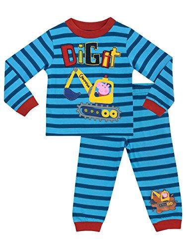 George Wutz Jungen George Wutz Schlafanzug 116 (Bestickte Schlafanzug)