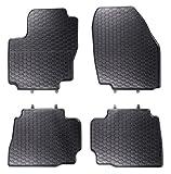 DAPA 1103762 Gummimatten Gummifußmatten Fußmatten Auto Gummi Automatten Hervorragende Premium Qualität Ideale Paßform als Ersatz für Ihre Originale Matten